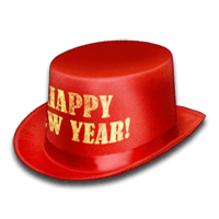 New year hat clipart images gallery for free download.
