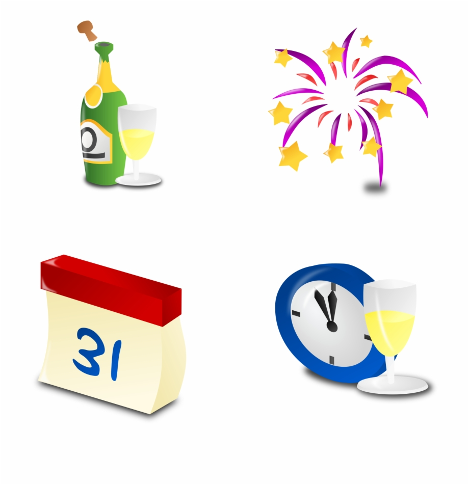 Small New Years Icon Png Download Happy New.