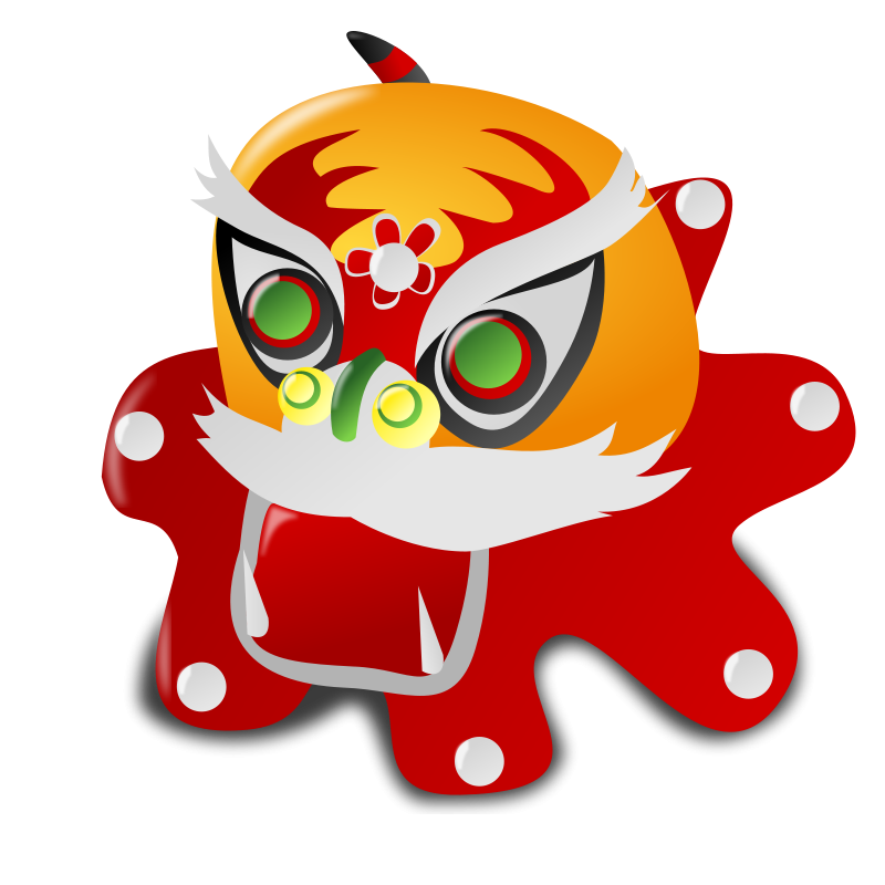 Free Clipart: Chinese New Year Icon.
