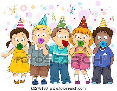 New year party clipart 6 » Clipart Portal.