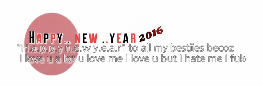 Picsart Editing Happy New Year Png.