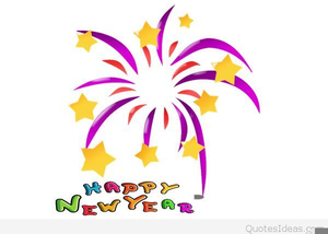 Happy New Year Religious Clipart.