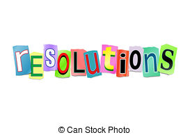 New years resolutions Stock Illustration Images. 943 New.