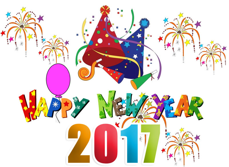 2017 clipart new year\'s, 2017 new year\'s Transparent FREE.