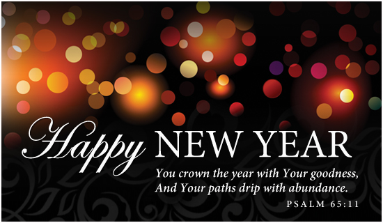 Religious new year clip art.
