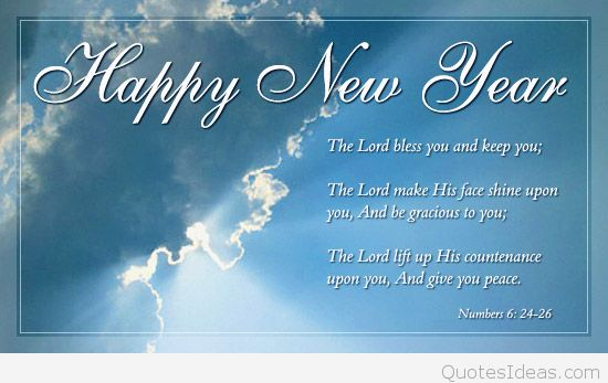 Religious Happy New year Sayings, Quotes, Wishes 2016.