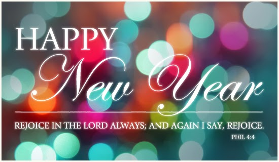New Year Scripture Clipart.
