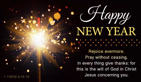 Christian Scripture New Year 2014.