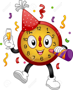Free Animated Clipart For New Years Eve.