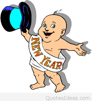 10076 New Year free clipart.