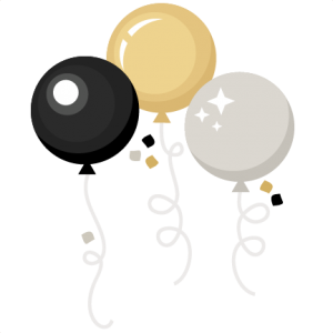Daily FREEBIE) New Year Balloons.