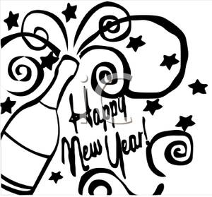 New Years Eve Clipart 2016.