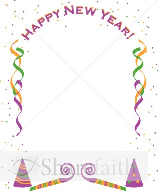 Years clipart border.