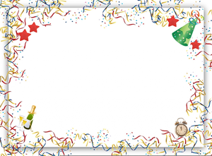 Border Clipart New Years.