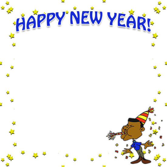 Download new years day border clipart New Year's Day Clip art.