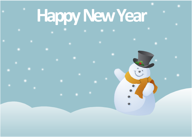 Clipart Images For Christmas And New Years And Snowmen.