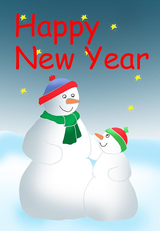 Send a Happy New Year Card.