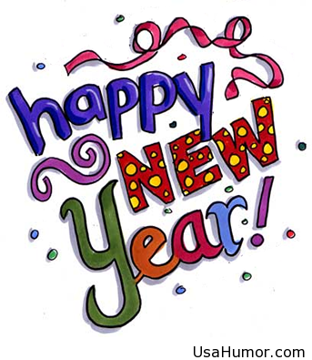 Happy new year clipart 2015.