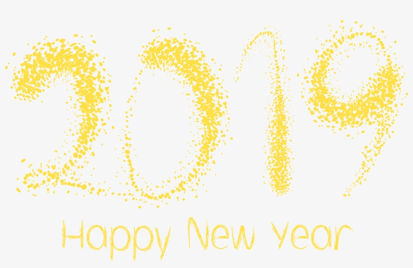 Happy New Year Clipart 2019.