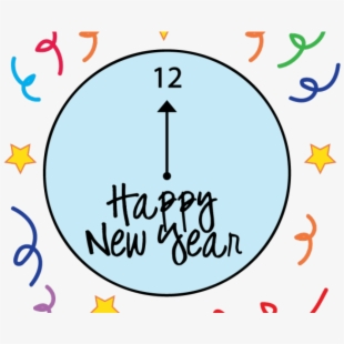 Free Free New Years Clipart Cliparts, Silhouettes, Cartoons.
