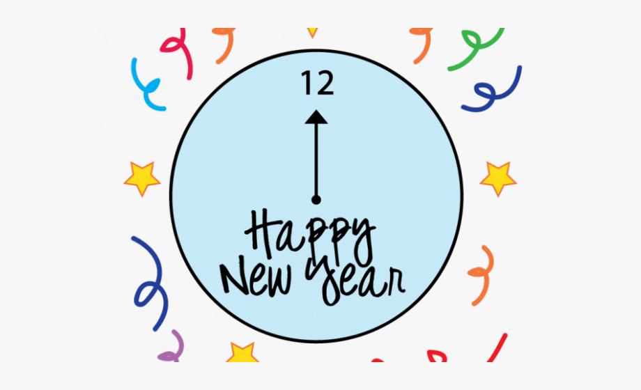 Happy New Year Clipart Student.