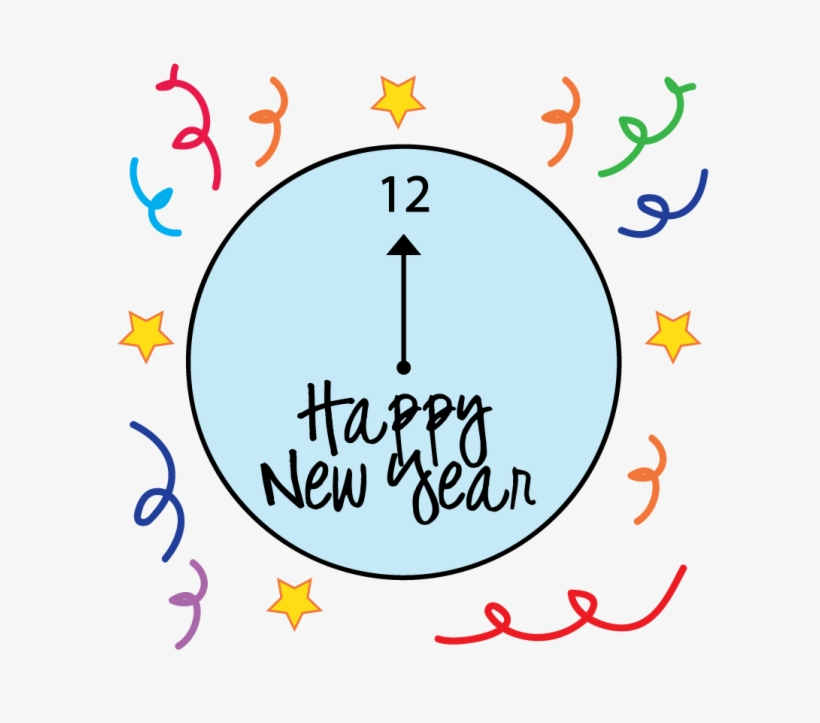 Happy New Year Coloring Pages.