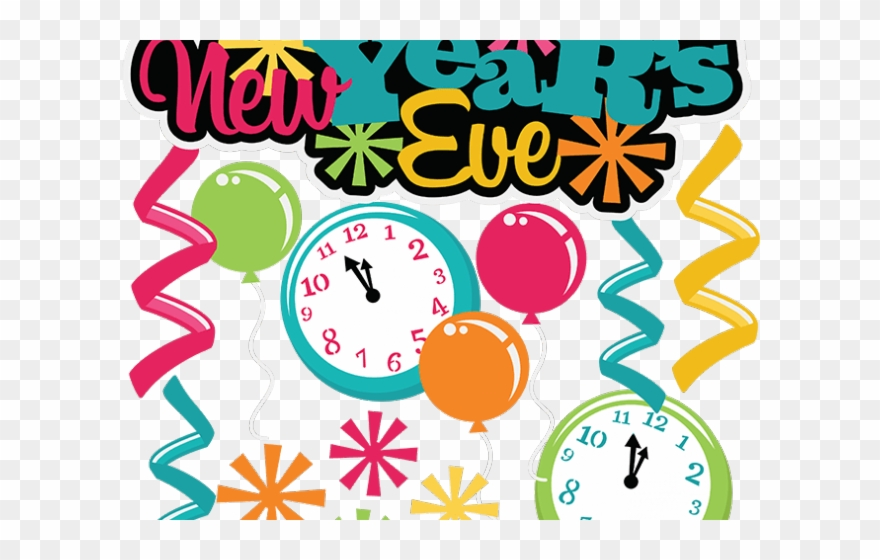 Religious Clipart New Years Eve.