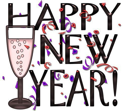 Happy New Year 2016 Clip Art Images.