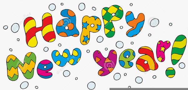 Free Animated New Year Clipart.