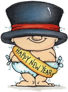 Happy new year eve images clipart.