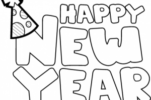 New years eve clipart black and white 2 » Clipart Portal.