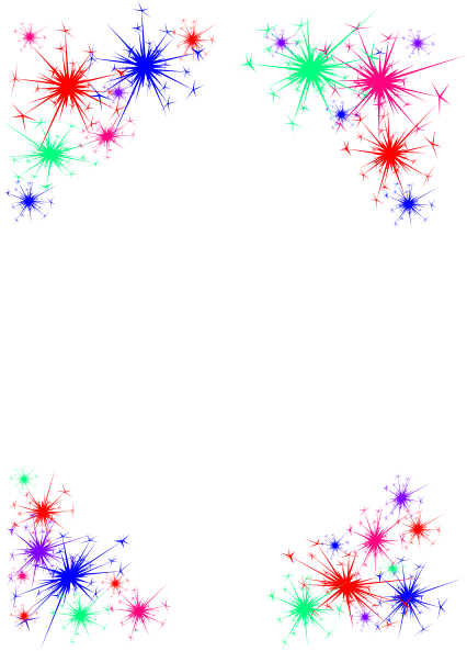 New year clip art borders clipart images gallery for free.