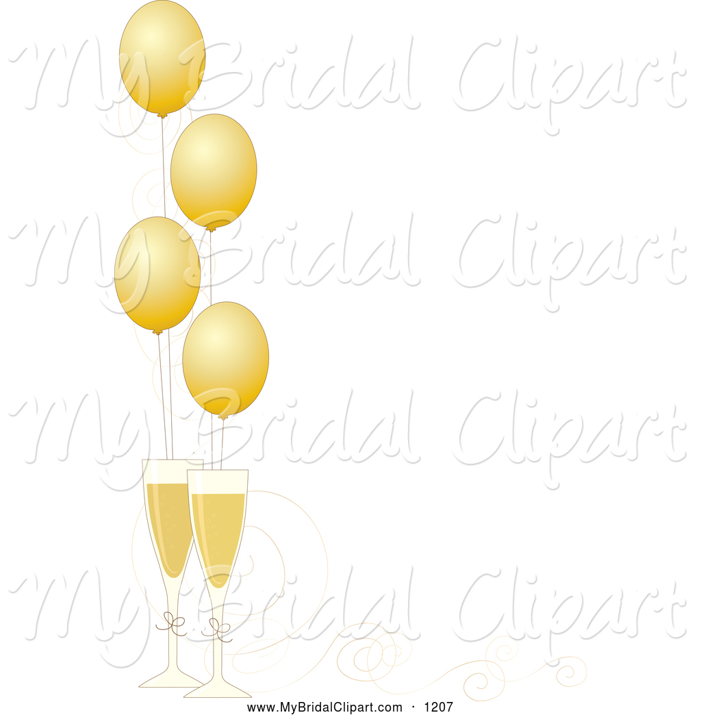 New Years Clipart Border.