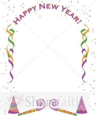 New year clipart borders 3 » Clipart Portal.