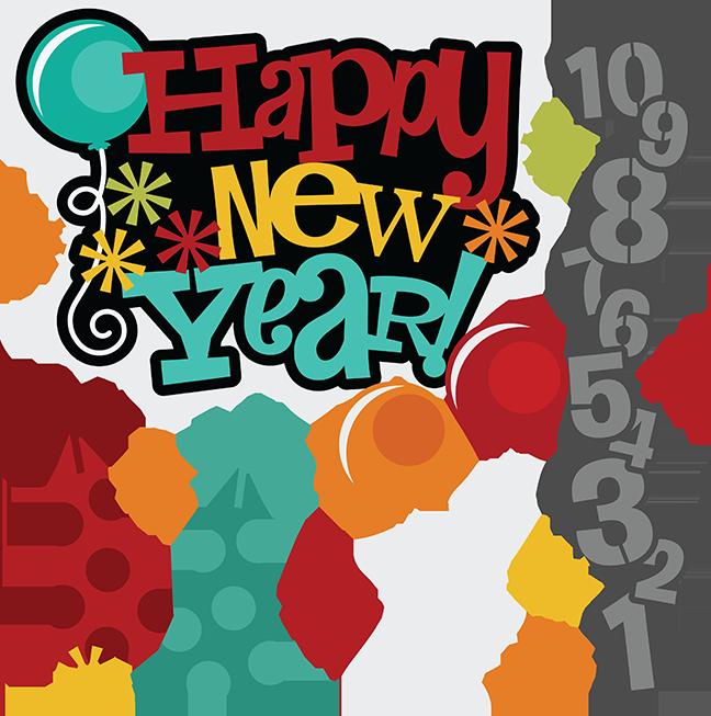 Happy New Years Eve Clip Art.