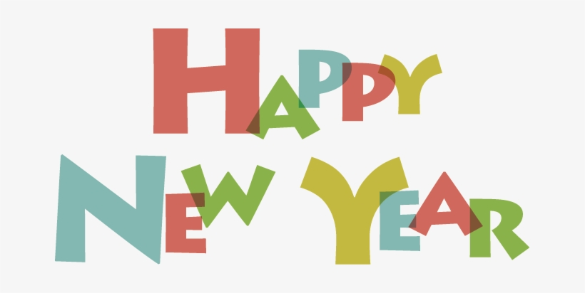 New Year Clipart Png Vector Happy New Year 2018 Images.
