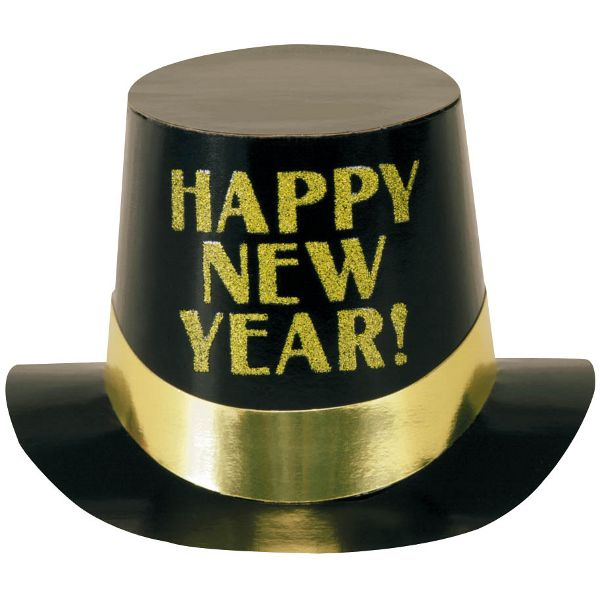 Hat clipart new years eve.