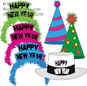 New years eve party hat clipart 5 » Clipart Portal.