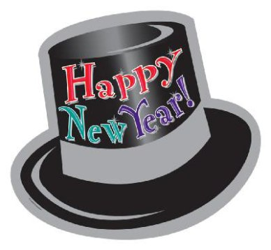 New Years Party Hat Clipart.