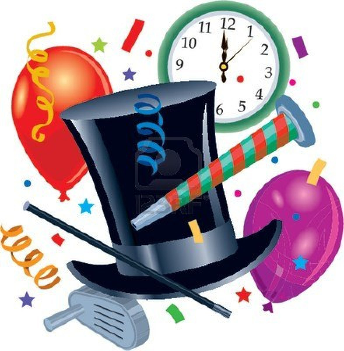 New years eve party hat clipart 7 » Clipart Portal.