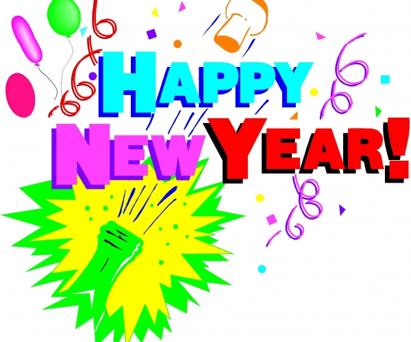 Free Clipart New Years Eve.