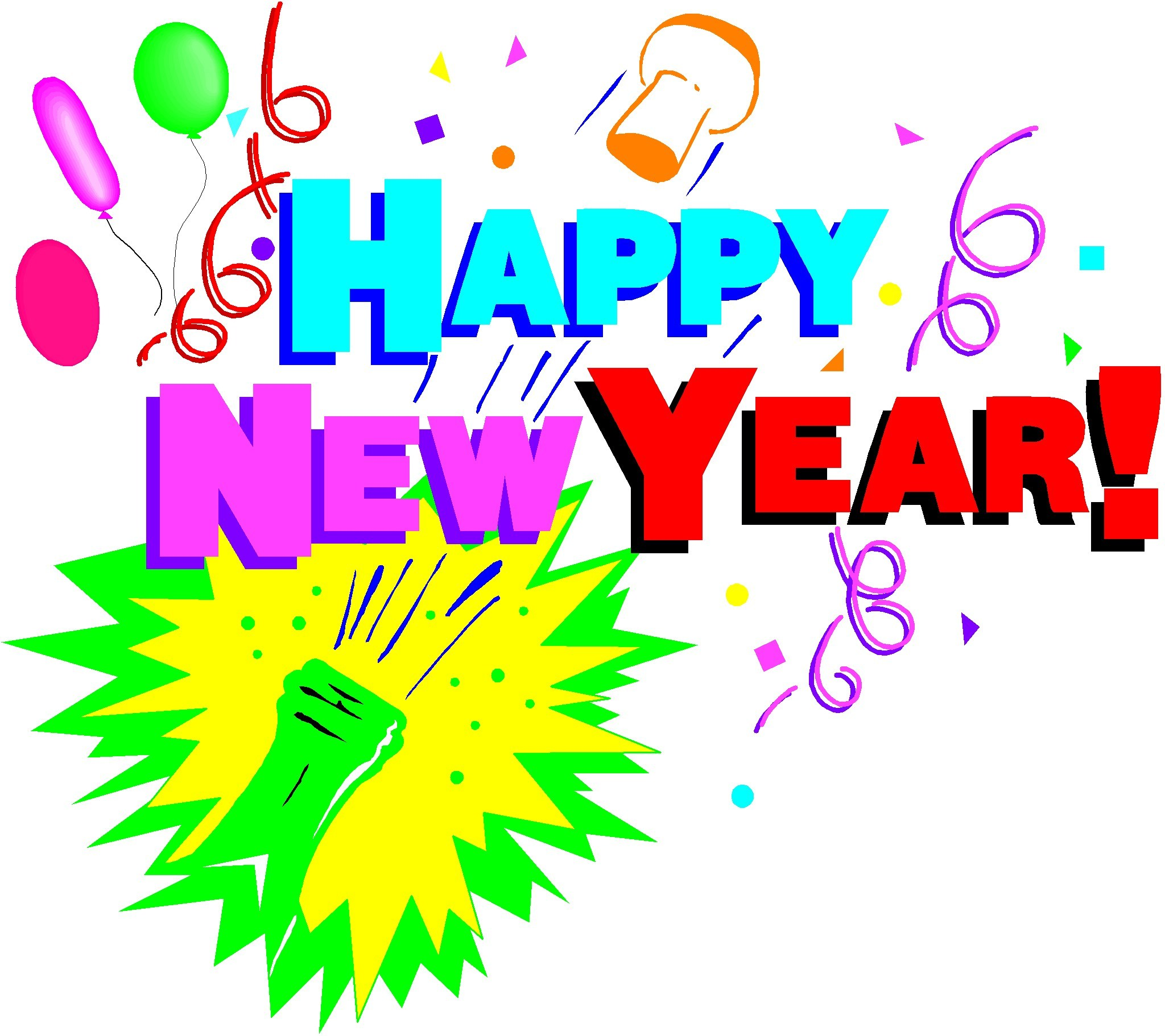 Free clipart new years eve celebration 5 » Clipart Portal.