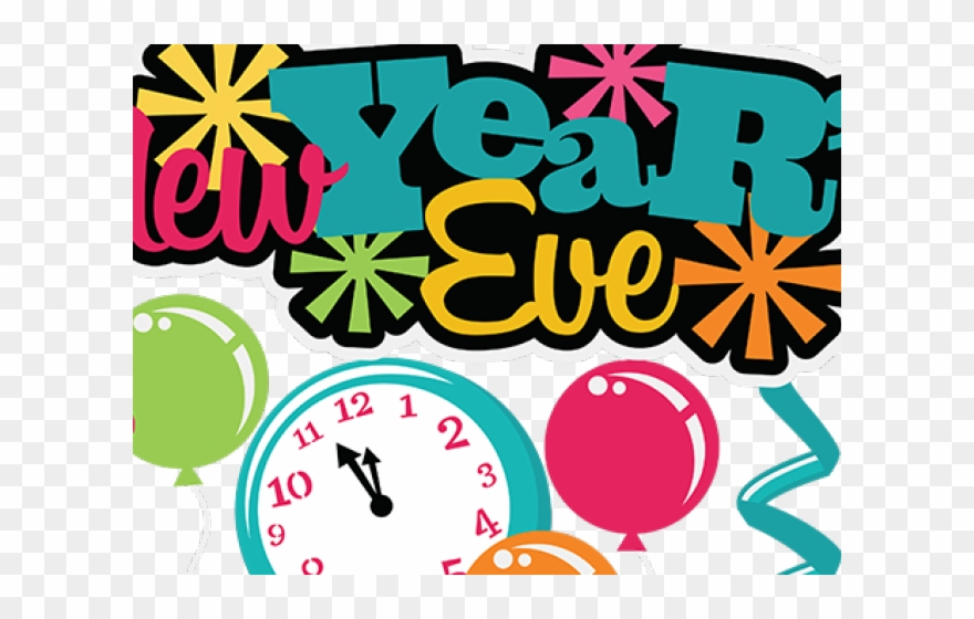 New Year Clipart Eve.