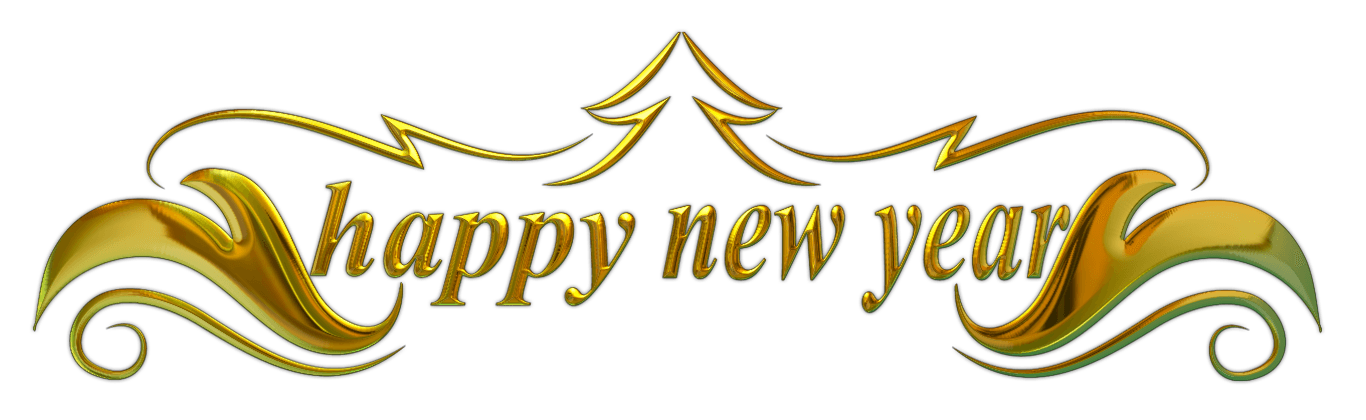 New Years Eve Happy transparent PNG.