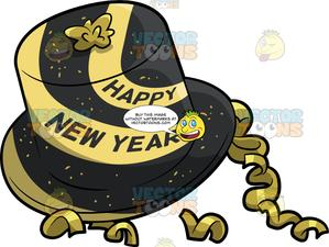 A New Year Party Hat.