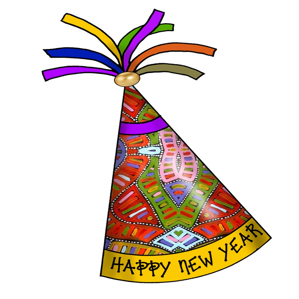 New years party hat clipart 5 » Clipart Portal.