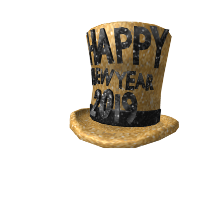 2019 New Year's Hat.