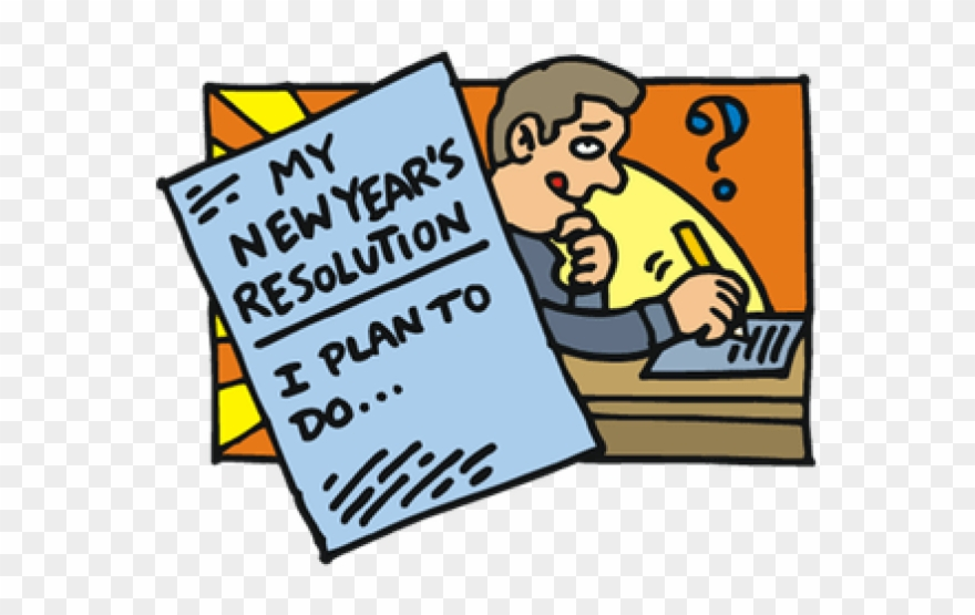 New Year Clipart New Years Resolution.