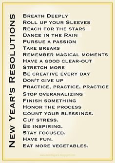 free clip art new year's sayings resolutions.