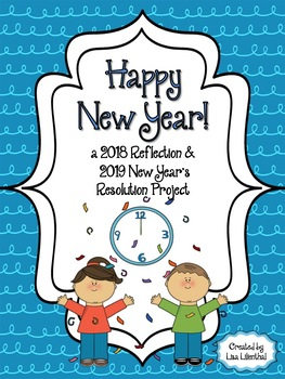 New Year! Reflections & New Year's Resolutions FREEBIE!.